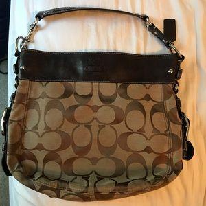 Medium/Large Coach Bag - Brown